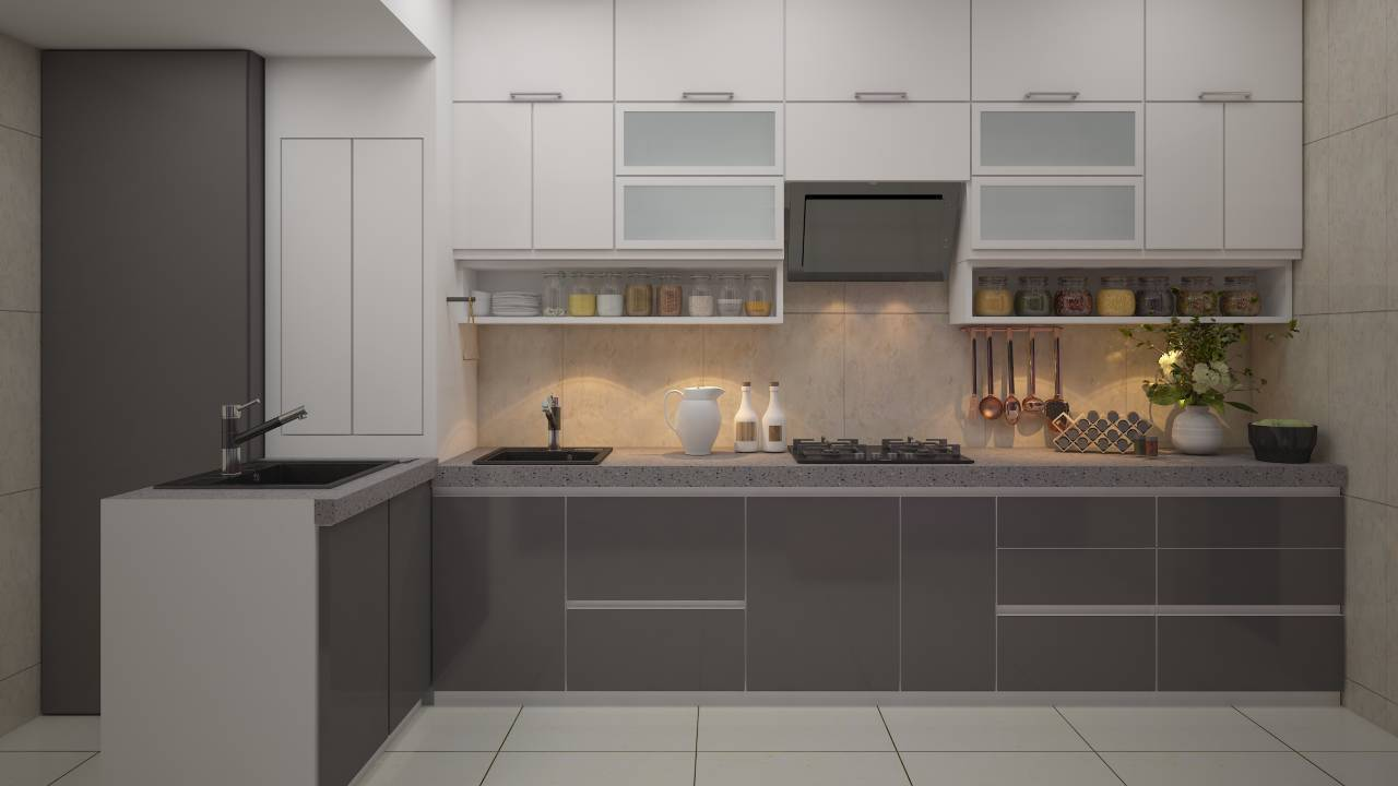 Modular kitchen accessories and material list